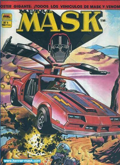 M.A.S.K. M.A.S.K. Spanisch MC Ediciones comic 1987 no. 6