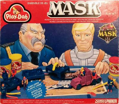 M.A.S.K. M.A.S.K. Play-Doh knead set Canada