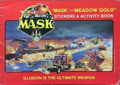 M.A.S.K. M.A.S.K. Stickerbook Meadow Gold Icecream