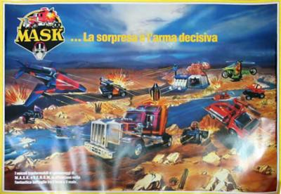 M.A.S.K. M.A.S.K. Poster Italy